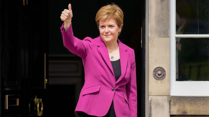 Think of it not as losing Scotland but as gaining a permanent Conservative majority, Nicola tells Boris