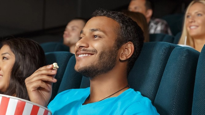 Cinemagoers booked in to see any old shit