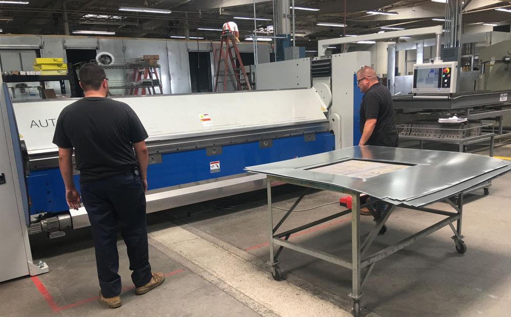 sheet metal folding evolves