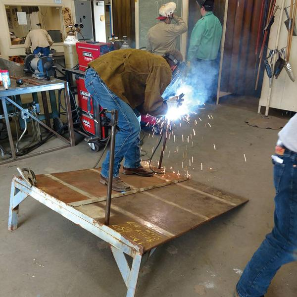 weld olympics challenges students