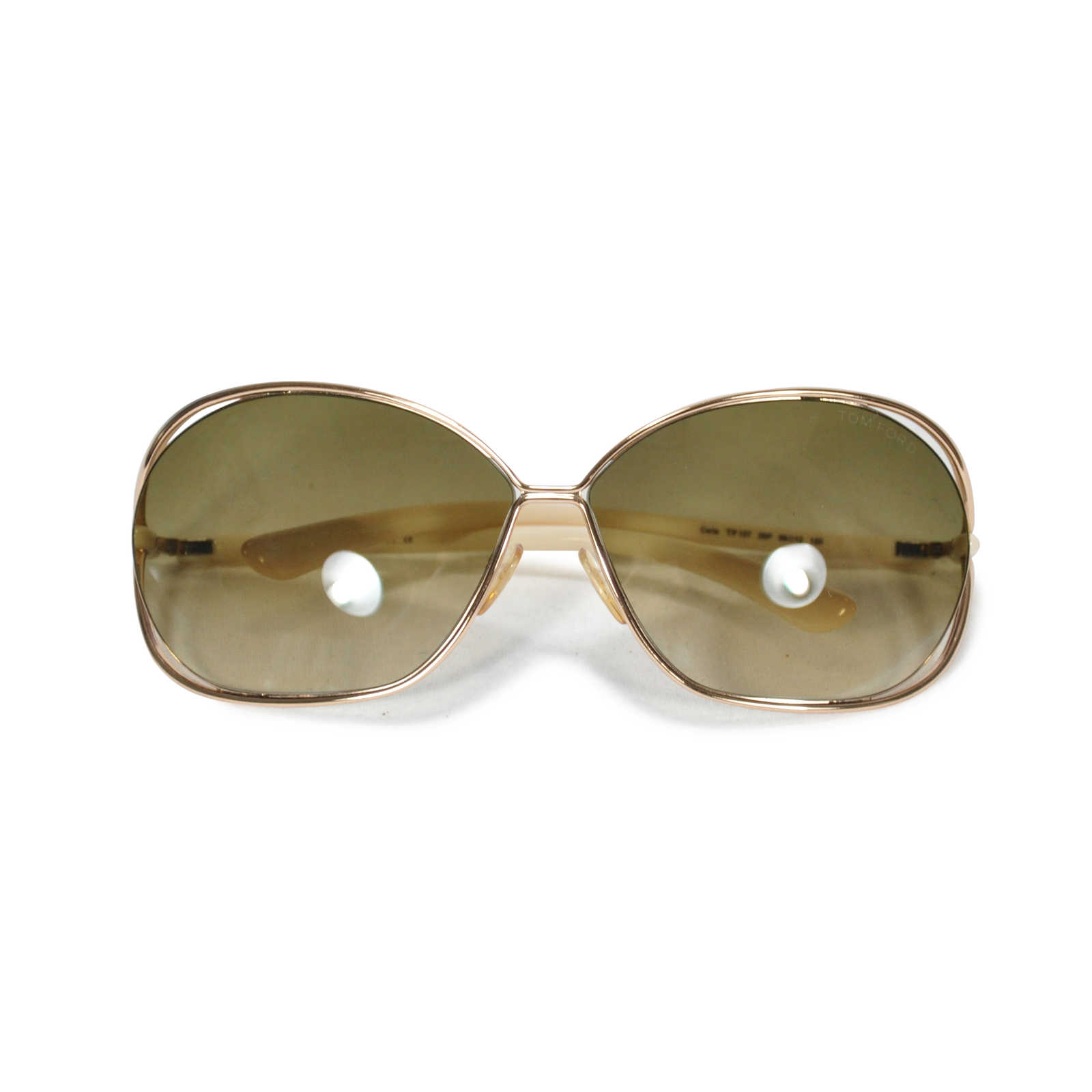Authentic Hand Tom Ford Carla Sunglasses Pss-089