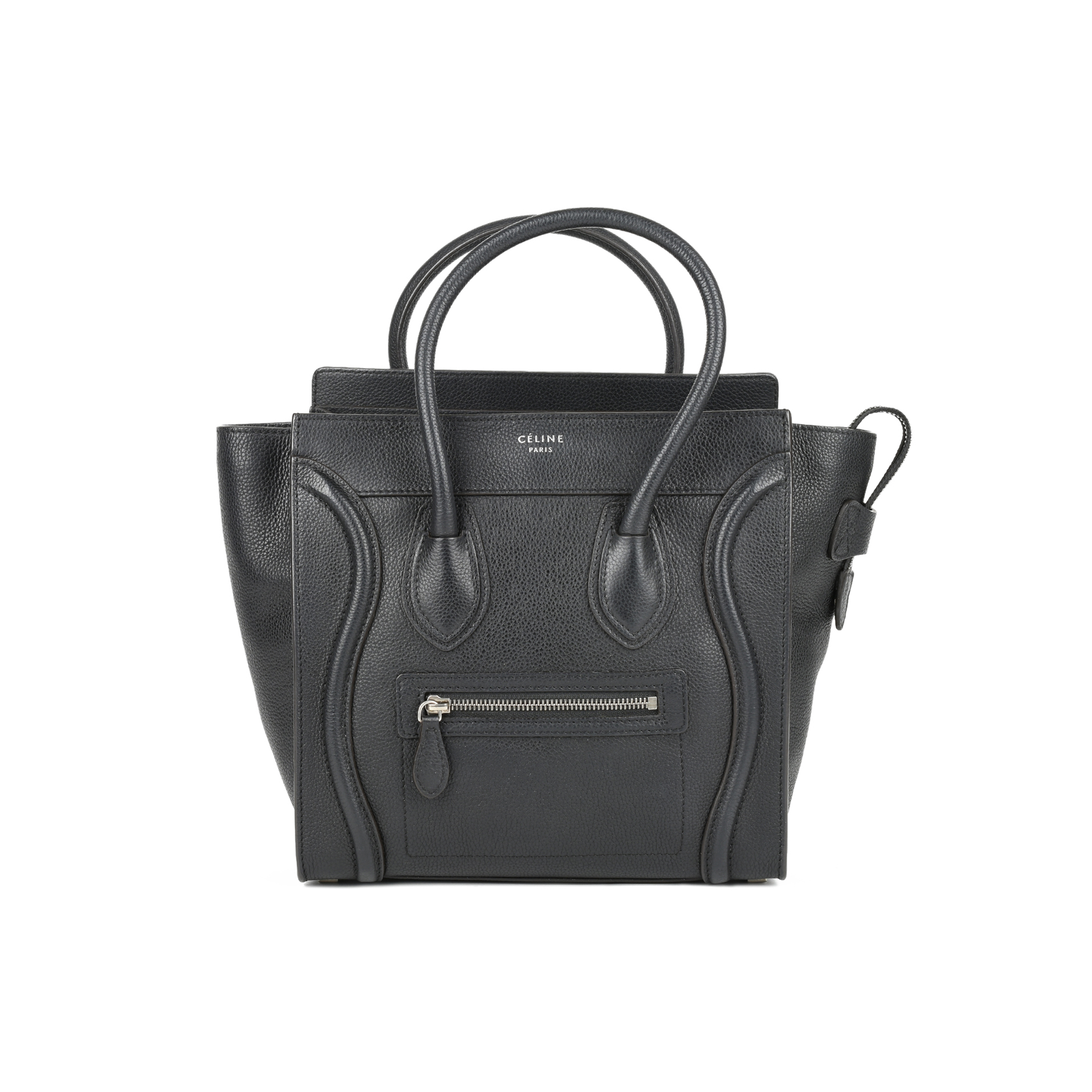 Authentic Second Hand Céline Micro Luggage Tote (PSS-446-00014) - THE FIFTH COLLECTION