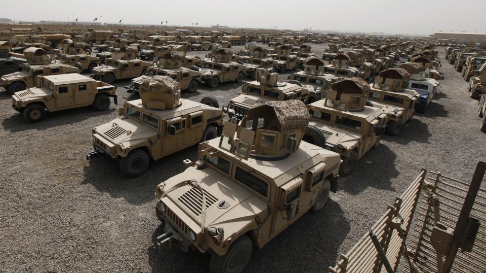 The Armyu0027s $30 Billion Humvee Replacement Program Goes Off