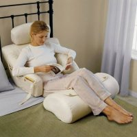 The BedLounge Hypoallergenic Bed Rest Pillow  Gadget Flow