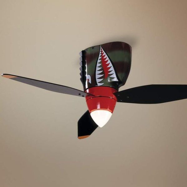 WarPlane Tiger Shark Ceiling Fan Gadget Flow