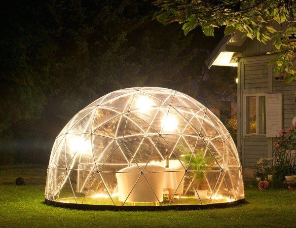 garden igloo - outdoor living space