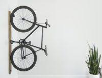 Black Walnut Vertical Bike Rack  Gadget Flow