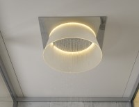 LED Ceiling Mounted Shower by Toto  Gadget Flow