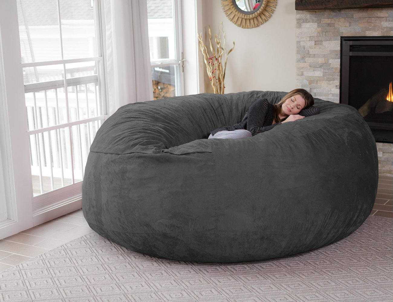 best bean bag chair for adults dining pads chill – the eight-foot review » gadget flow