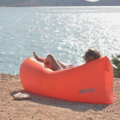 Blow Up Beach Chair Swivel For Shower Kaisr Inflatable Air Lounge  Review