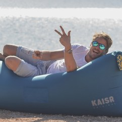 Air Travel Beach Chairs Steelcase Vintage Kaisr Inflatable Lounge  Gadget Flow