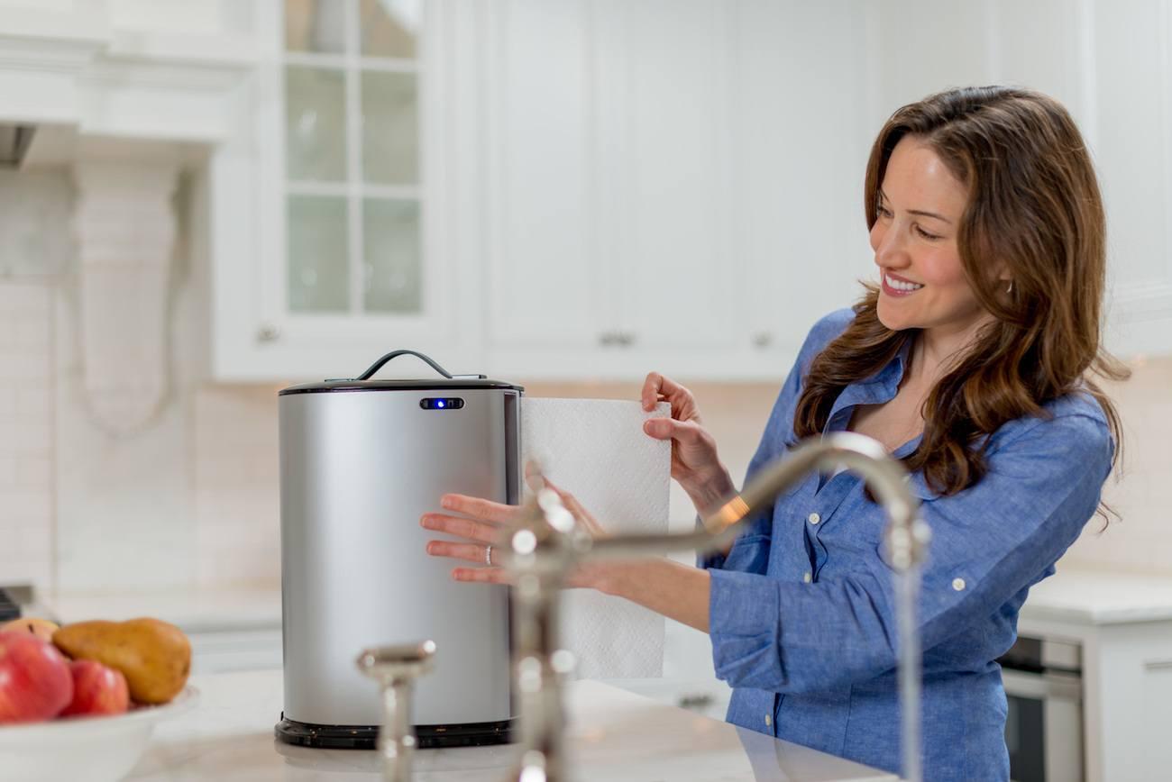 automatic paper towel dispenser for kitchen european cabinet hardware innovia  gadget flow