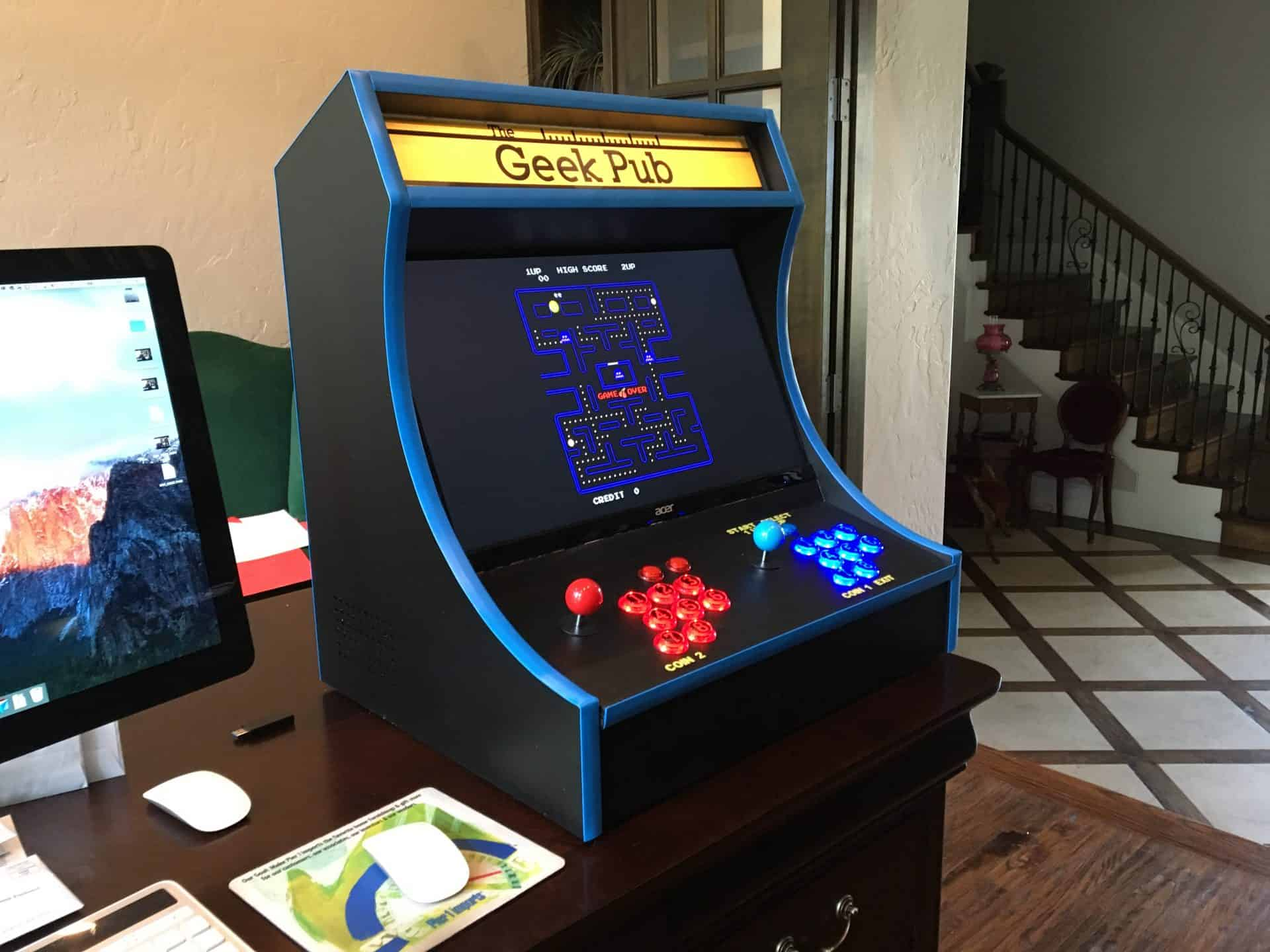 Build A RetroPie Bartop Arcade Cabinet The Geek Pub