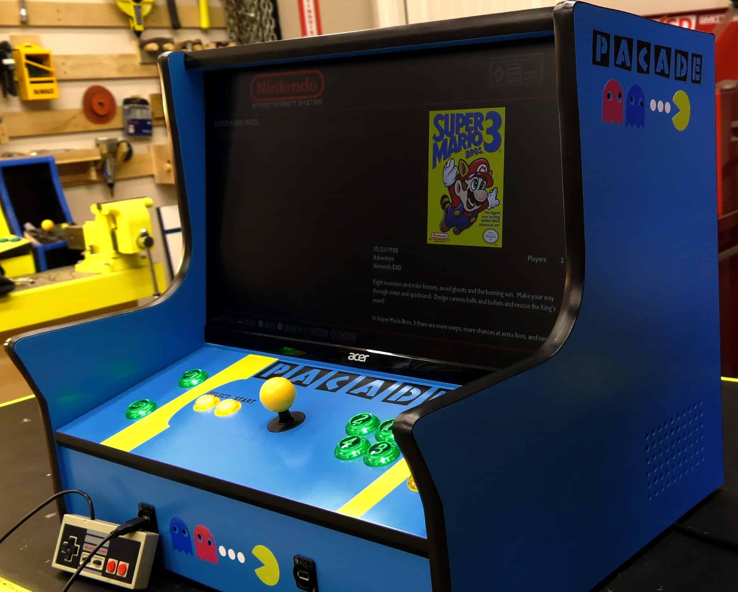 Arcade Plans  Build an Arcade Cabinet  The Geek Pub