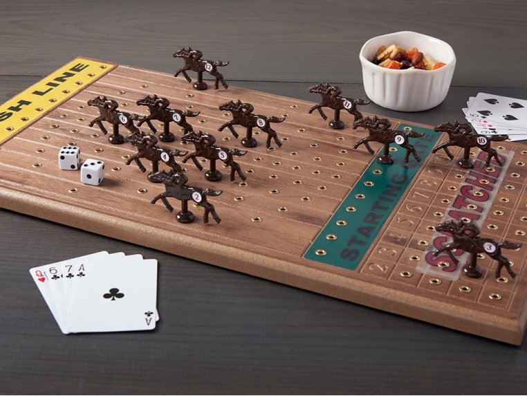 Horse Racing Board Game by Across The Board: Family Fun | The Grommet®