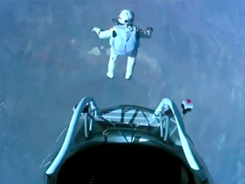 Felix' Baumgartners Space Jump