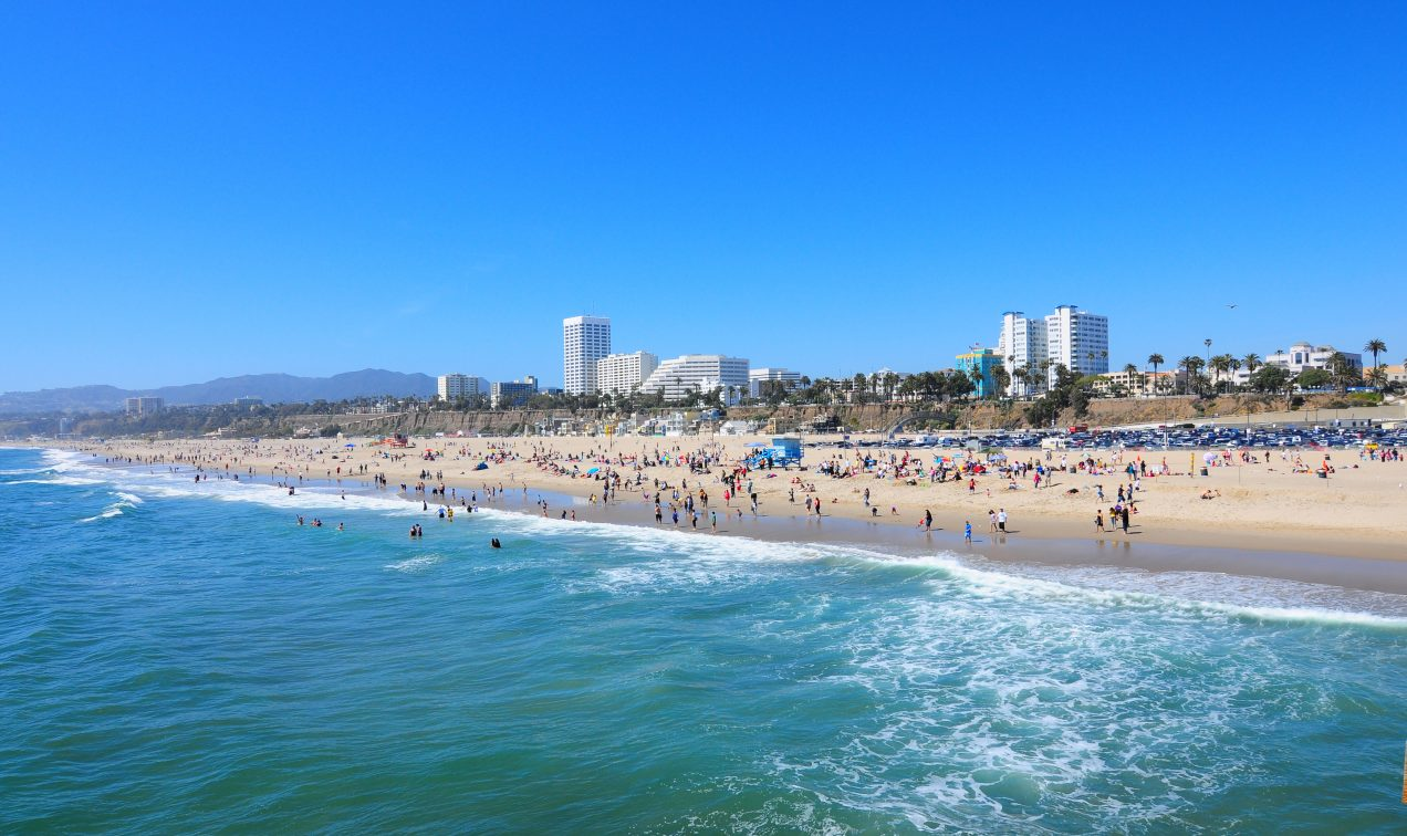 Image result for santa monica beach