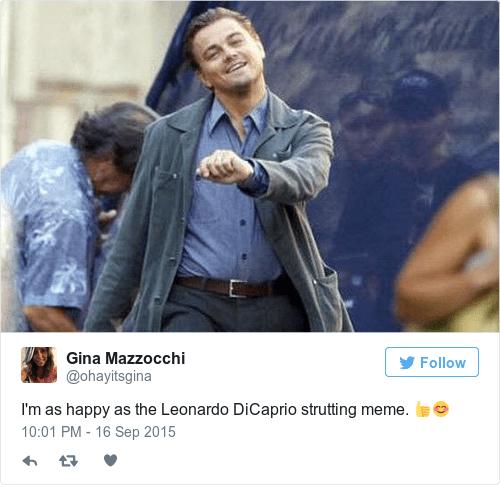 Walking Meme Dicaprio Leonardo