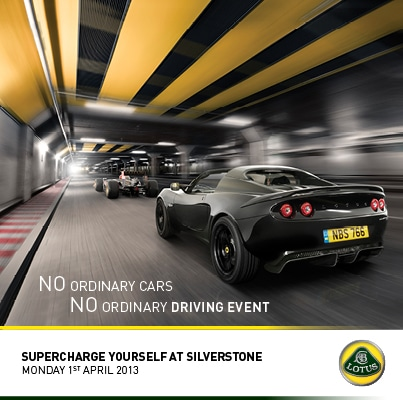 Silverstone Driving Event Facebook image