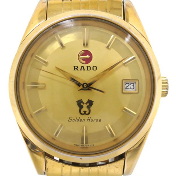 Buy Rado Golden Horse Gold Plated SS Mens Wristwatch 33129 at best price  TLC