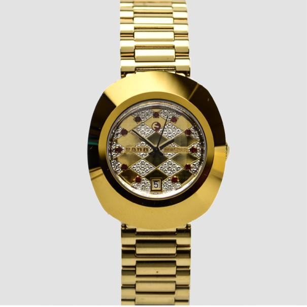 Buy Rado Diastar Stainless Steel Diamond Ladies Wristwatch 35 MM 35416 at best price  TLC
