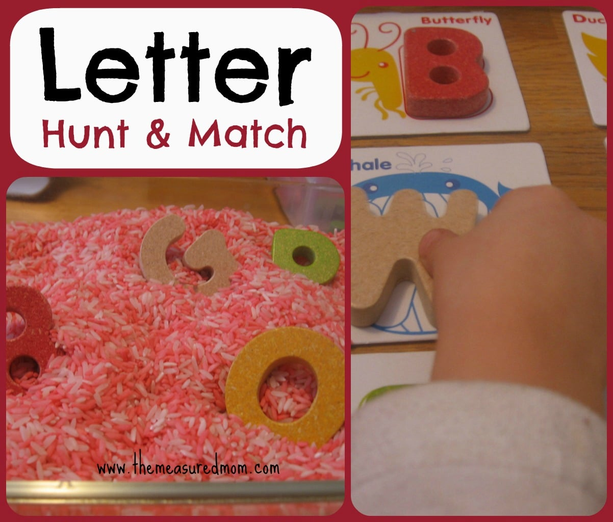 Letter Hunt Amp Match A Whole Alphabet Activity For Toddlers Amp Preschoolers