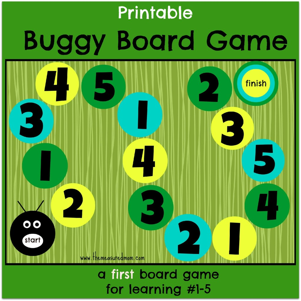 Buggy Board Game