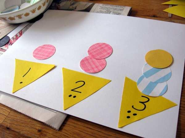 Math Crafts for Preschoolers