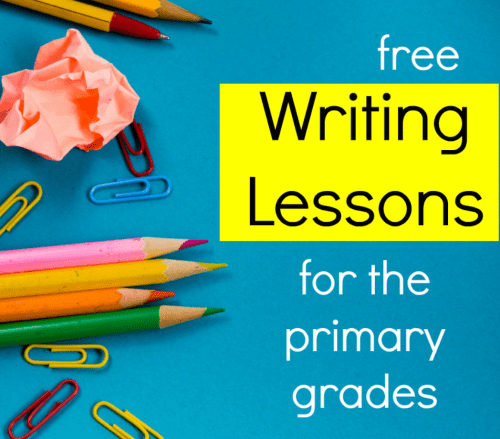 small resolution of Simple writing lessons for the primary grades - The Measured Mom