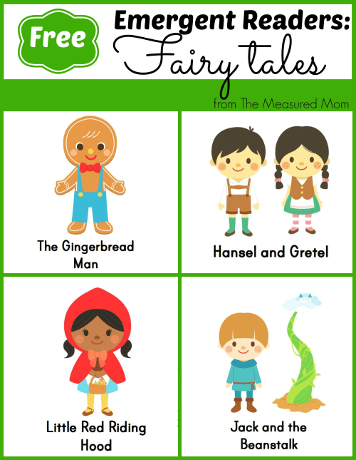 small resolution of Sight word books set 5: Fairy tales - The Measured Mom