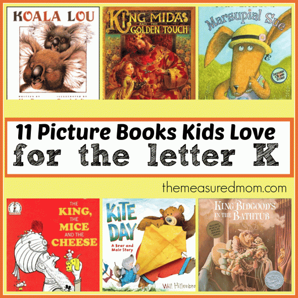 Letter Of The Week Book List Books To Read For Letter K