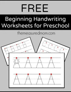 free handwriting worksheets also teaching the measured mom rh themeasuredmom