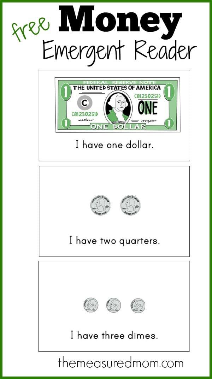 Kindergarten Money Worksheets Coins