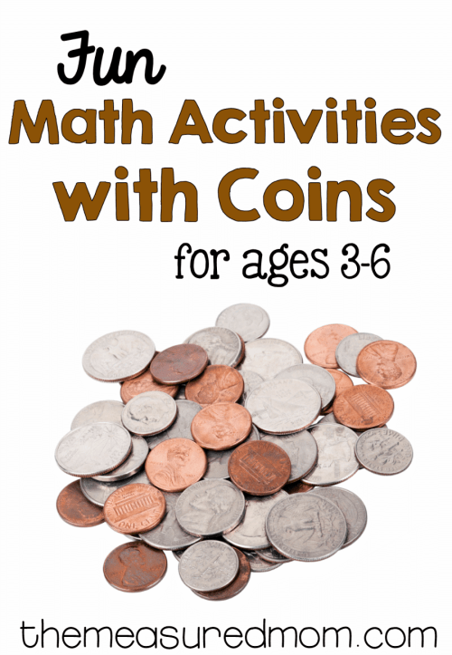 small resolution of Math activities with coins for ages 3-8 - The Measured Mom