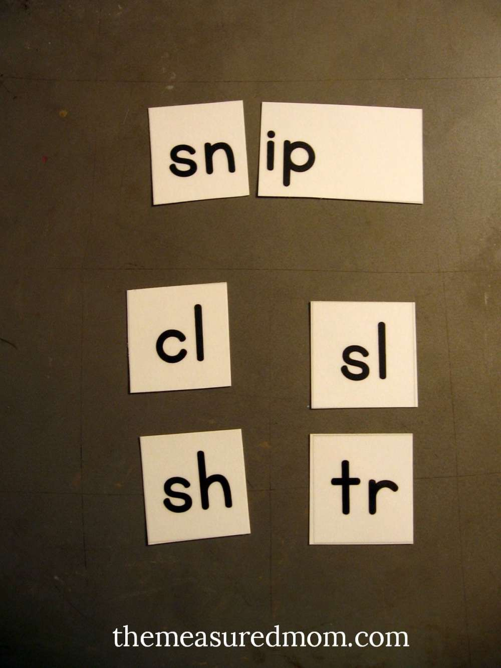medium resolution of Printable letter tiles for building words - The Measured Mom