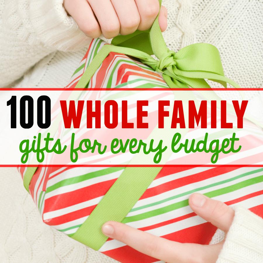 100 family gift ideas