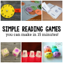 10 Diy Reading Games For Kids The Measured Mom