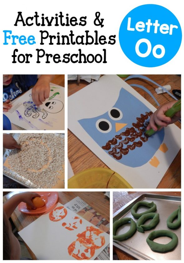 letter o activities for