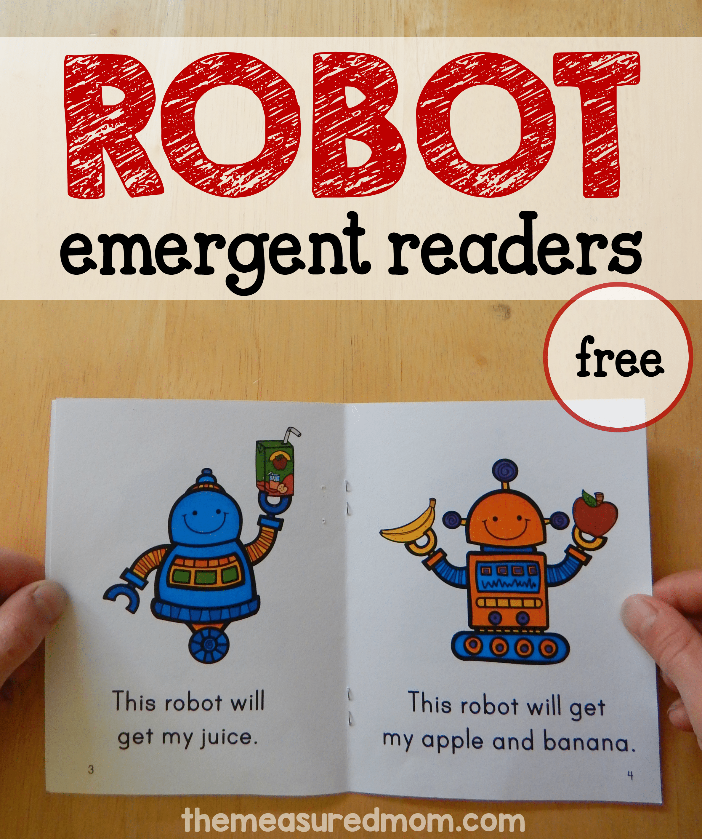Free Robot Books For Early Readers