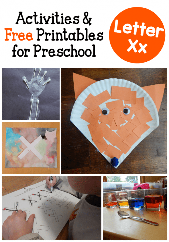 letter x activities for