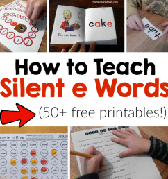 How to teach silent e words - The Measured Mom [ 1314 x 1264 Pixel ]