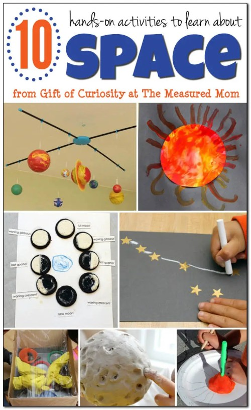 small resolution of 10 Fun space activities for kids - The Measured Mom