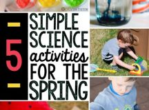 5 Spring science activities - The Measured Mom