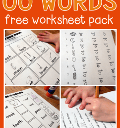 Worksheets for oo words - The Measured Mom [ 1056 x 778 Pixel ]