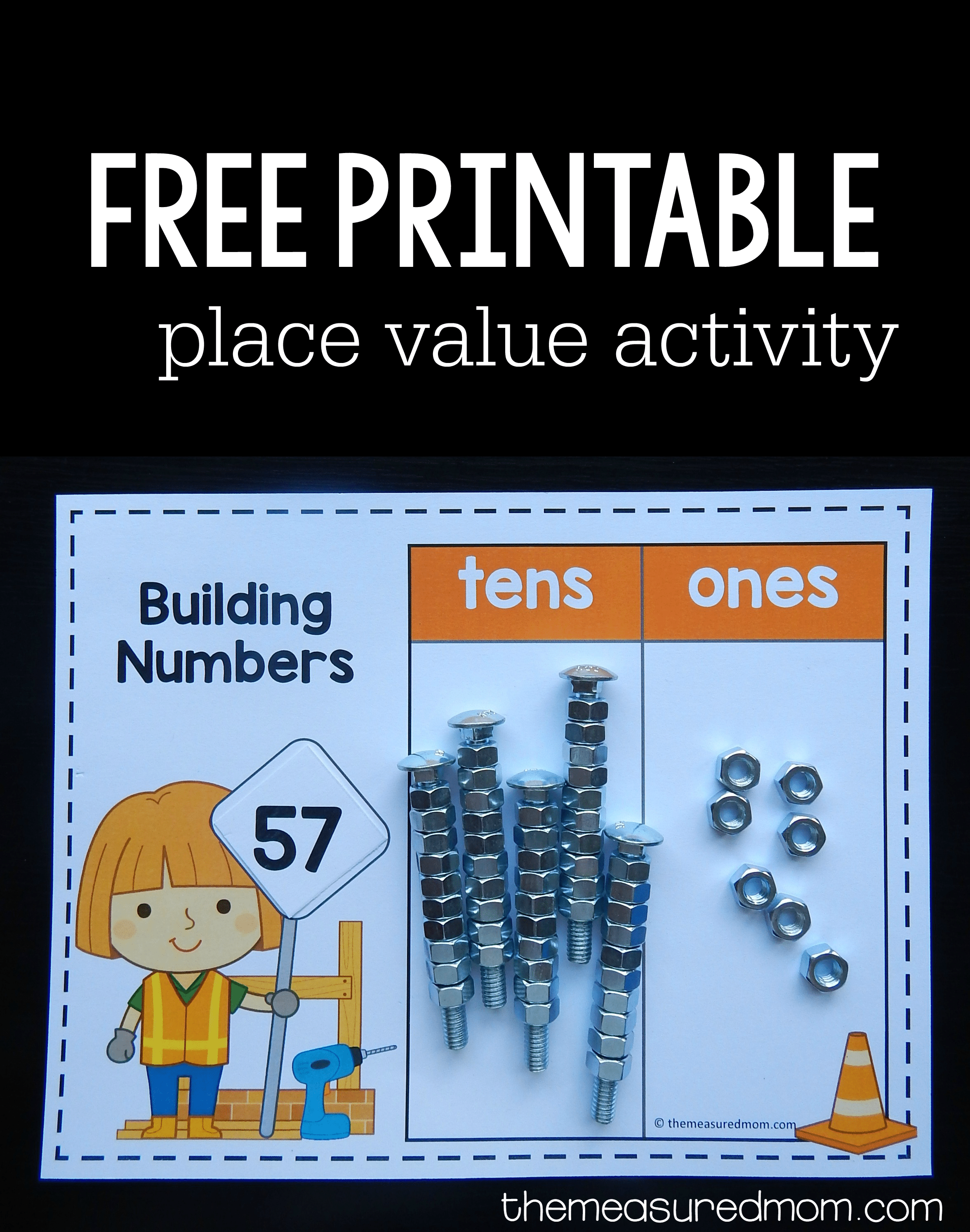 Free Place Value Activity With Diy Base Ten Blocks