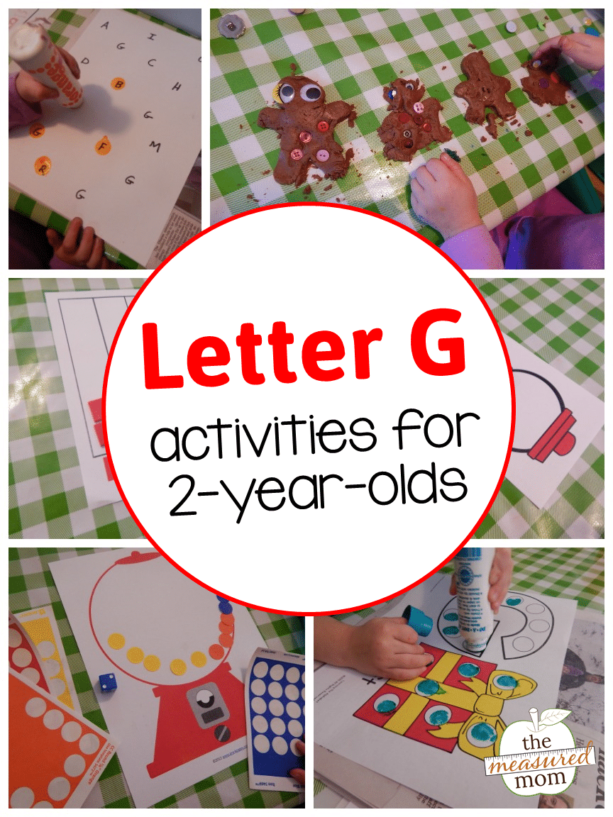 Letter G activities for 2yearolds  The Measured Mom