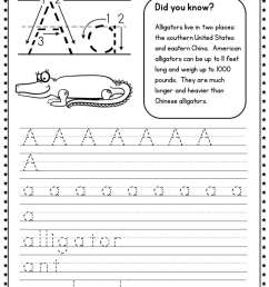 330 Handwriting Worksheets - The Measured Mom [ 1056 x 816 Pixel ]