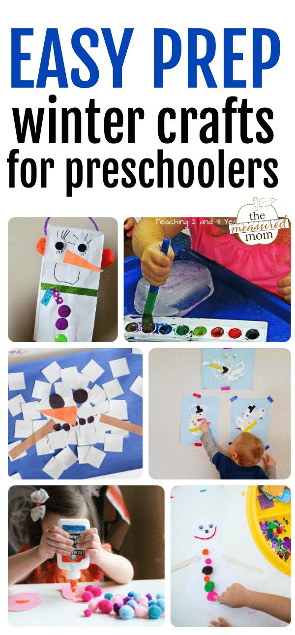 winter crafts for preschoolers