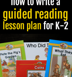 How to prepare a guided reading lesson - The Measured Mom [ 1200 x 900 Pixel ]
