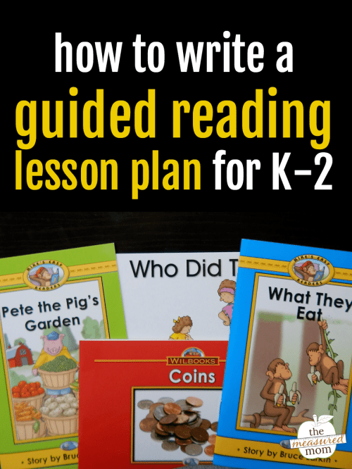 small resolution of How to prepare a guided reading lesson - The Measured Mom